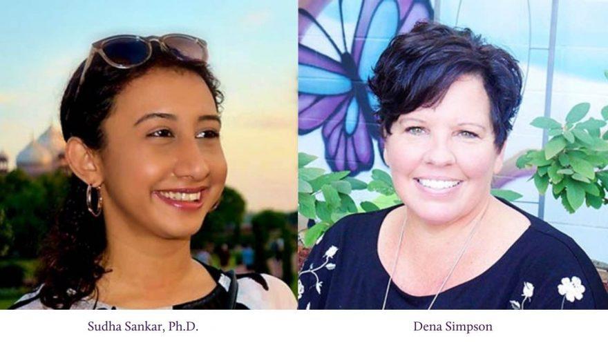 Photos of Sudha and Dena