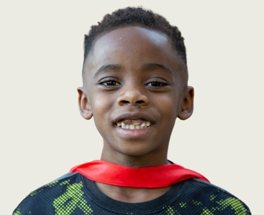 Photo of smiling boy
